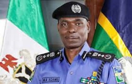 Inspector General of Police (IGP) Mohammed Adamu