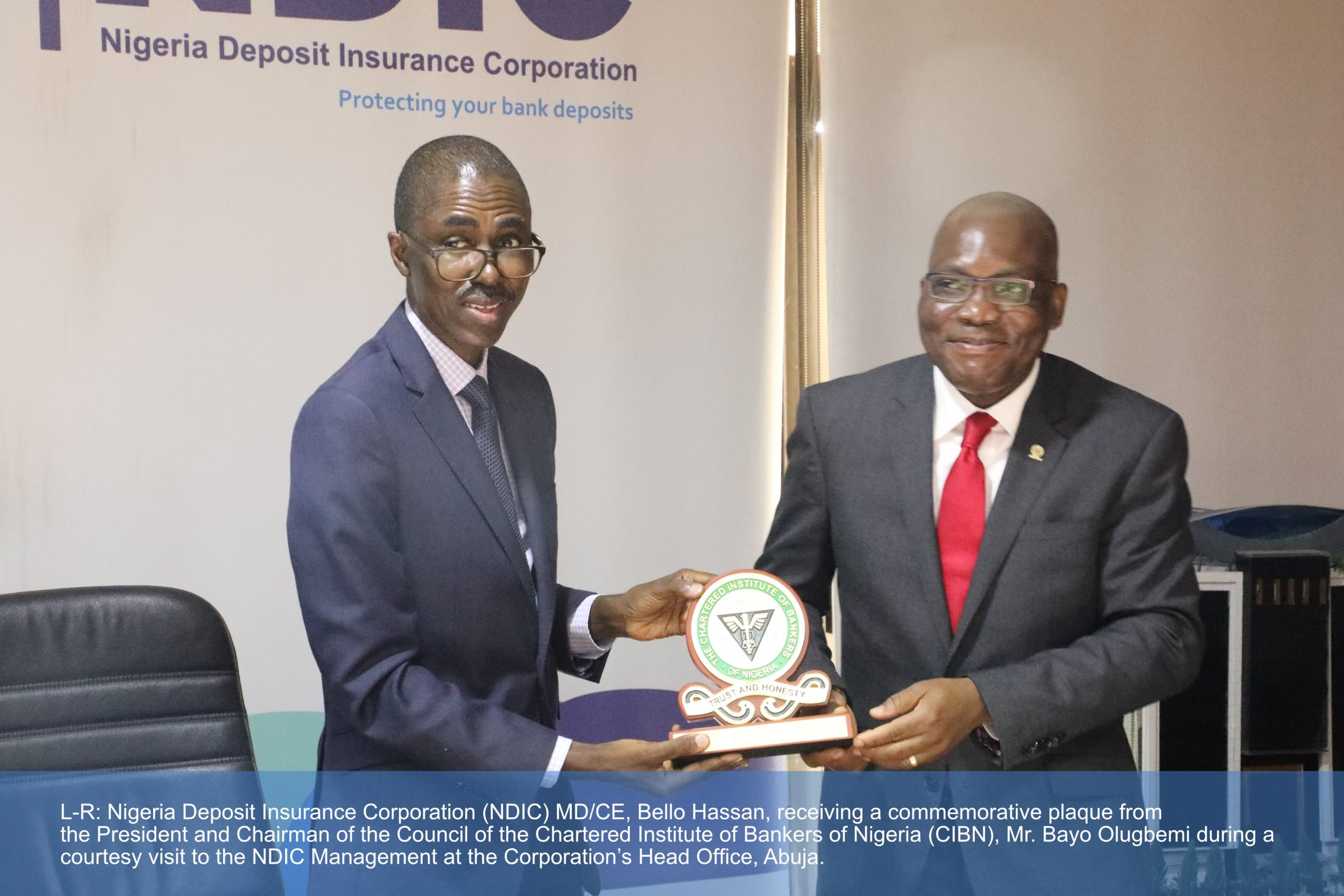 NDIC, CIBN Strengthen Collaboration To Improve Professionalism In Banking  Industry - Western Post News
